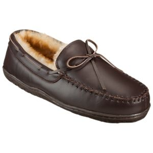 Bob Timberlake Nordic Ridge Slippers for Men - Dark Brown - 7 M