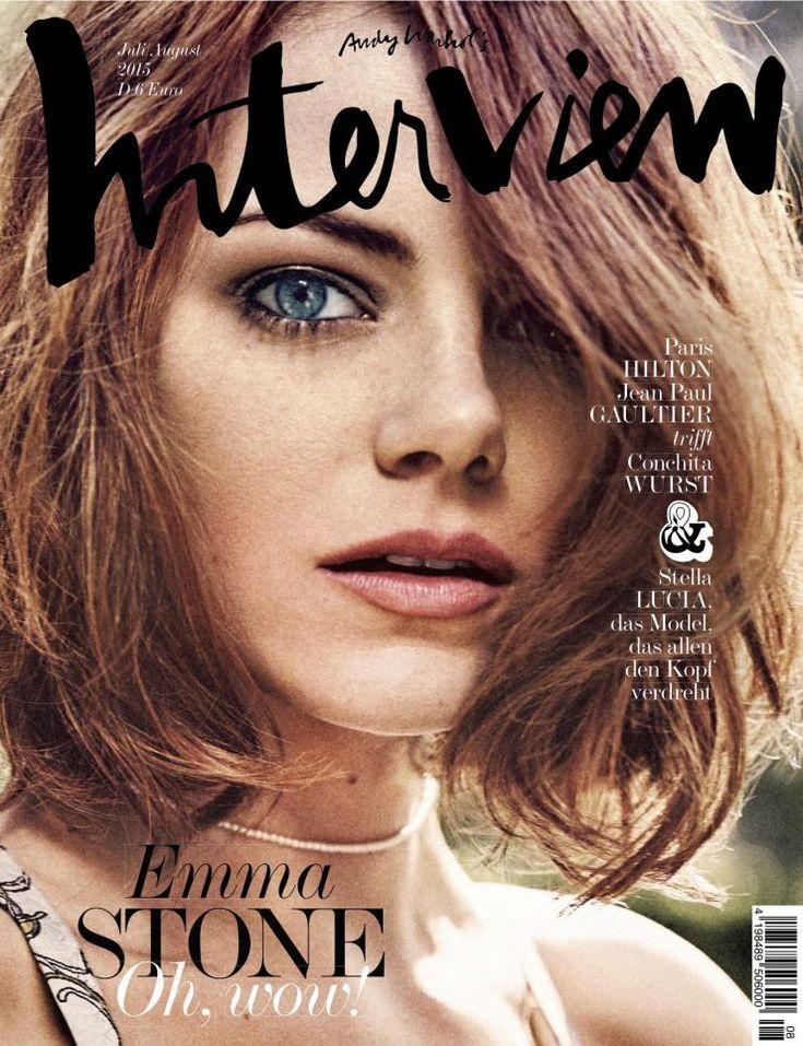 Interview Alemania magazine cover