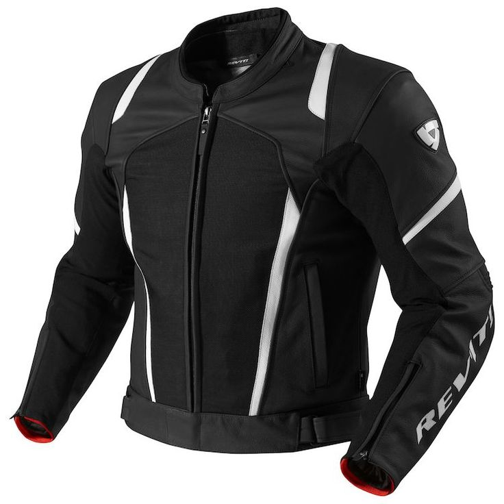 A slim-fitting sporty cut and the combination of Grade-A leather with strategically placed stretch panels make this a versatile jacket that works both on the bike and off the bike. The REVIT Galactic features a removable hydratex 3L liner for true waterproof performance, and can easily be paired to either the fully vented leather/mesh Gear 2 trousers or any of the full-leather sport trousers with its convenient connection zippers. On warm summer days the membrane can be removed and repla...