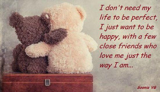 I don't need...