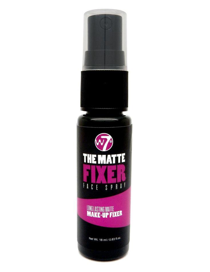 Το W7 The Matte Fixer Long Lasting Fixing Face Spray είναι ένα σπρέι, που φιξάρει και