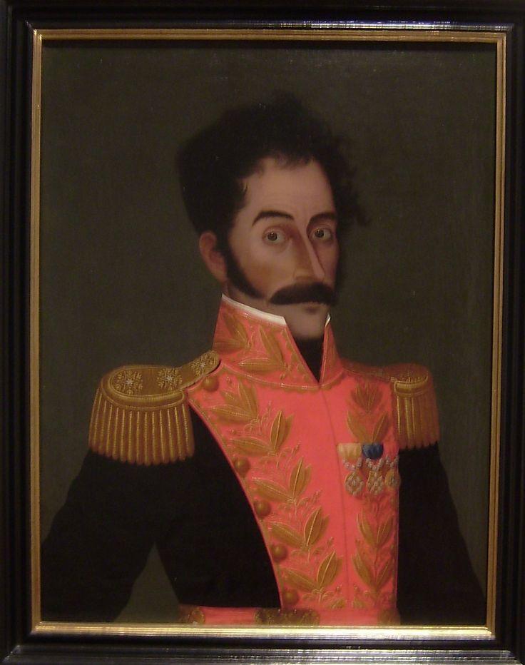 Simón Bolívar - José Gil de Castro. Lima 1765 - 1837.