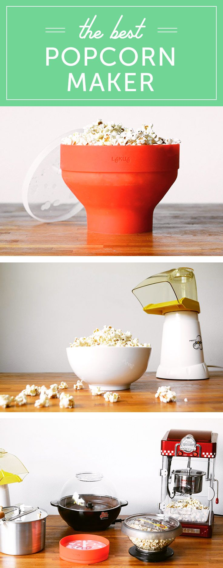 The best popcorn maker/popcorn popper