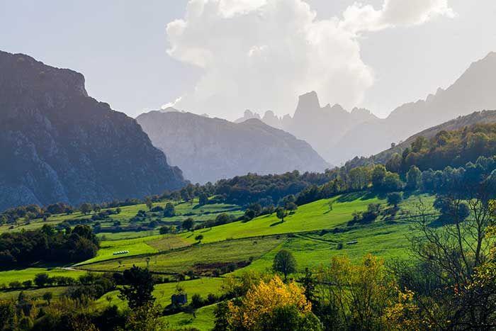 Picos de Europa en Asturias © Turismo de Asturias