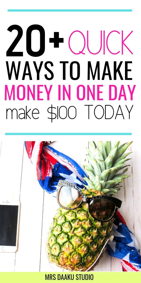 How to make quick money in one day (Earn $100 quickly!) – Work at home jobs | Side hustle ideas | Make Money Online