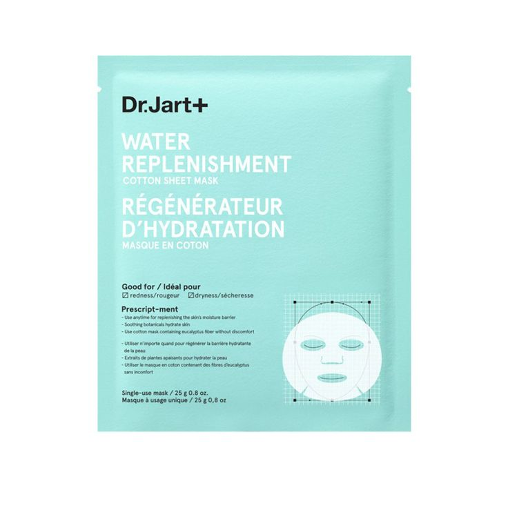 Spa-Like Skincare Treatments to Do At-Home During the Holidays: Dr. Jart Water Replenishment Mask | coveteur.com