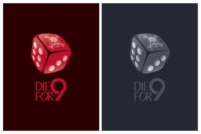 logo for Die For 9 by Labirin Works