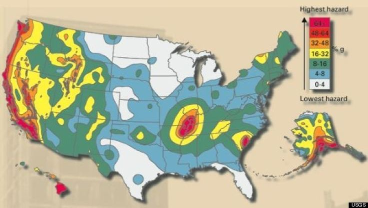 Some may be curious of the U.S. fault lines with earthquakes in the news lately.  The fact is most states are at risk of major earthquakes, with 39 of the 50 states in moderate to high risk areas for seismic activity