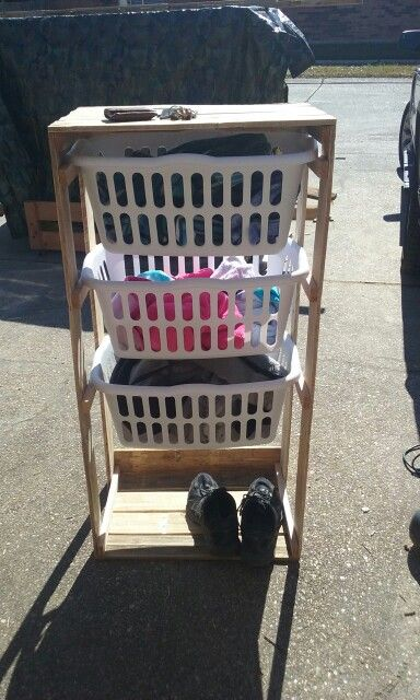 17 best ideas about laundry basket holder on pinterest laundry basket storage laundry baskets - Laundry basket lights darks colours ...