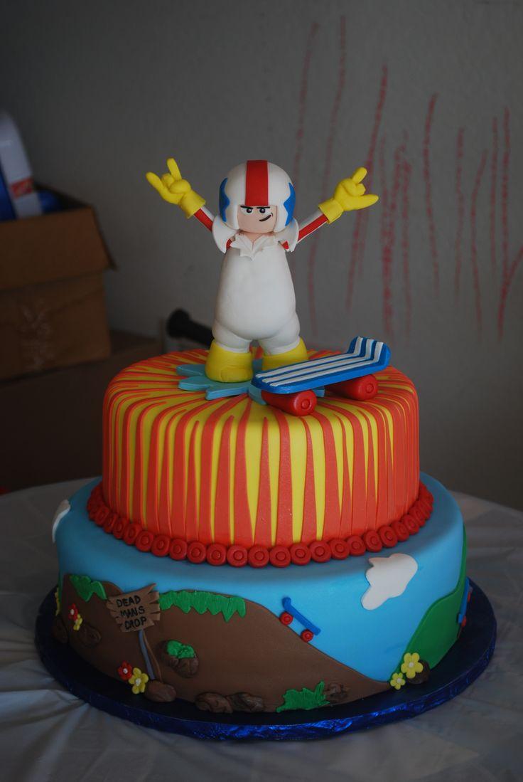 Kick Buttowski cake  www.kerry-cakes.com