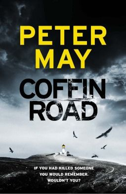 Coffin Road by Peter May. A well told mystery of man suffering from memory loss. Also a look into the world of bees!