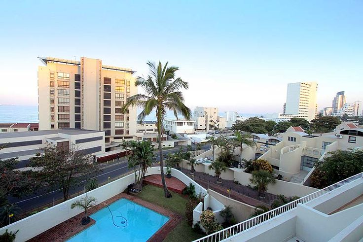 Ben Siesta 202 Self Catering Holiday Apartment In Umhlanga Rocks, KZN See more on http://www.wheretostay.co.za/bensiesta202-self-catering-apartment-accommodation-umhlanga-rocks  Ben Siesta is situated directly across the road from Bronze Beach, Umhlanga Rocks in a secure complex with a swimming pool and braai area. Modern, air-conditioned 2 bed 2 bath apartment, open plan lounge and dining room, fully equipped kitchen and a balcony with partial sea views.