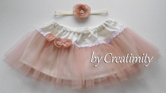 Dusty rose tutu skirt ruffled tutu skirt ballerina skirt