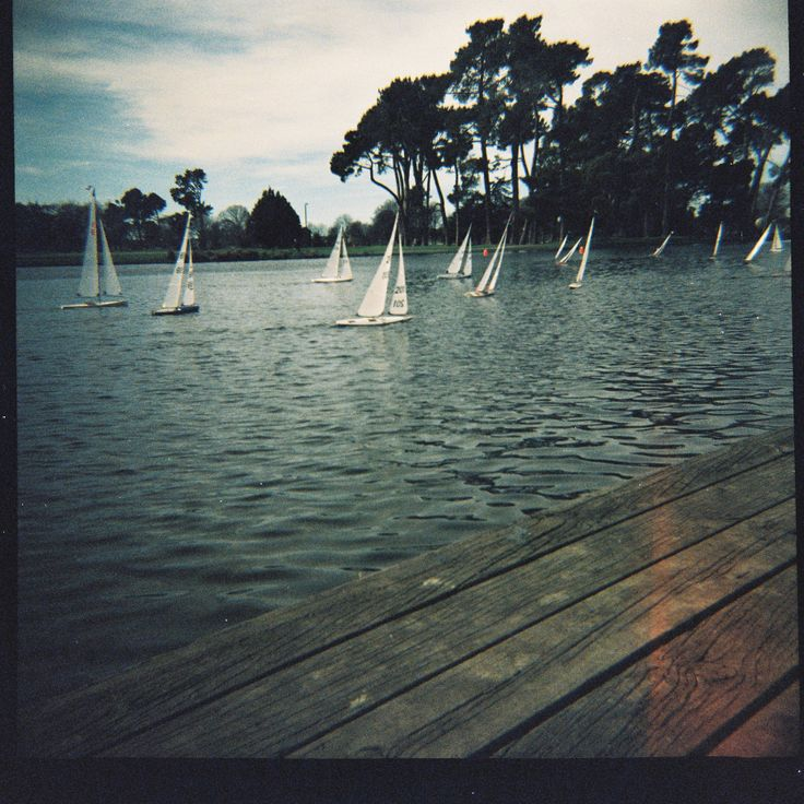 Remote Control boats, Victoria Lake, Hagley Park  #christchurch #pictureourcity