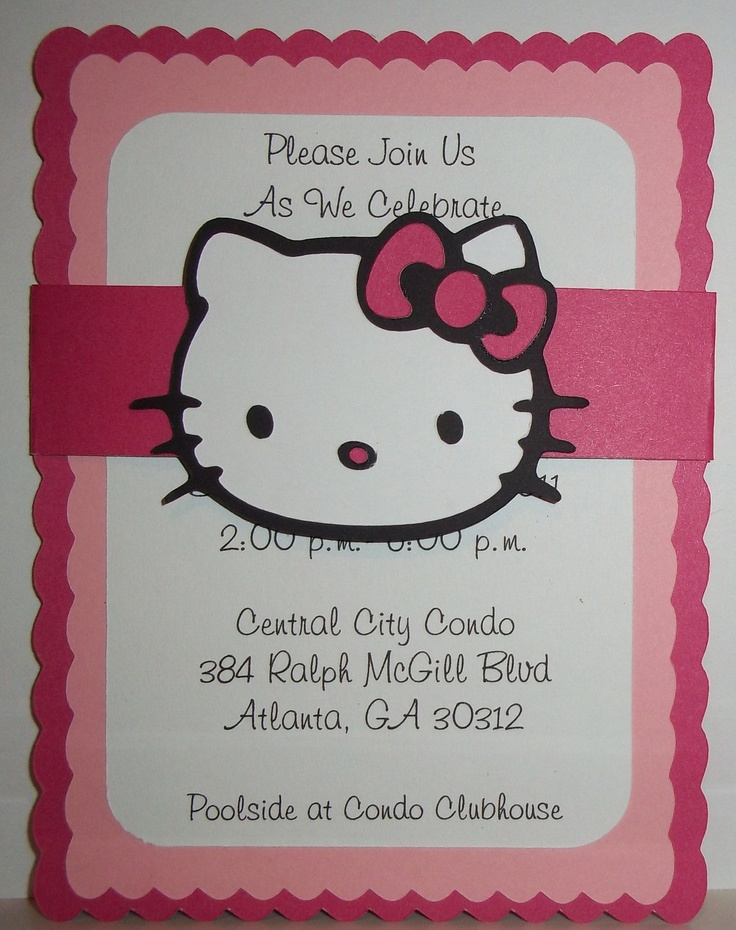 71 best Hello Kitty images on Pinterest Birthdays, Cat party and