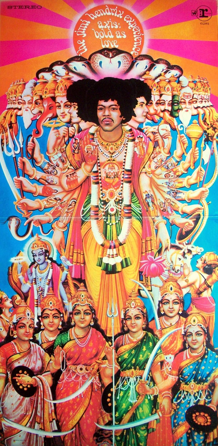 The Jimi Hendrix ExperienceAxis: Bold as Love1967