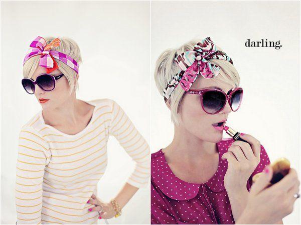 Best 25+ Pixie Cut Headband Ideas On Pinterest