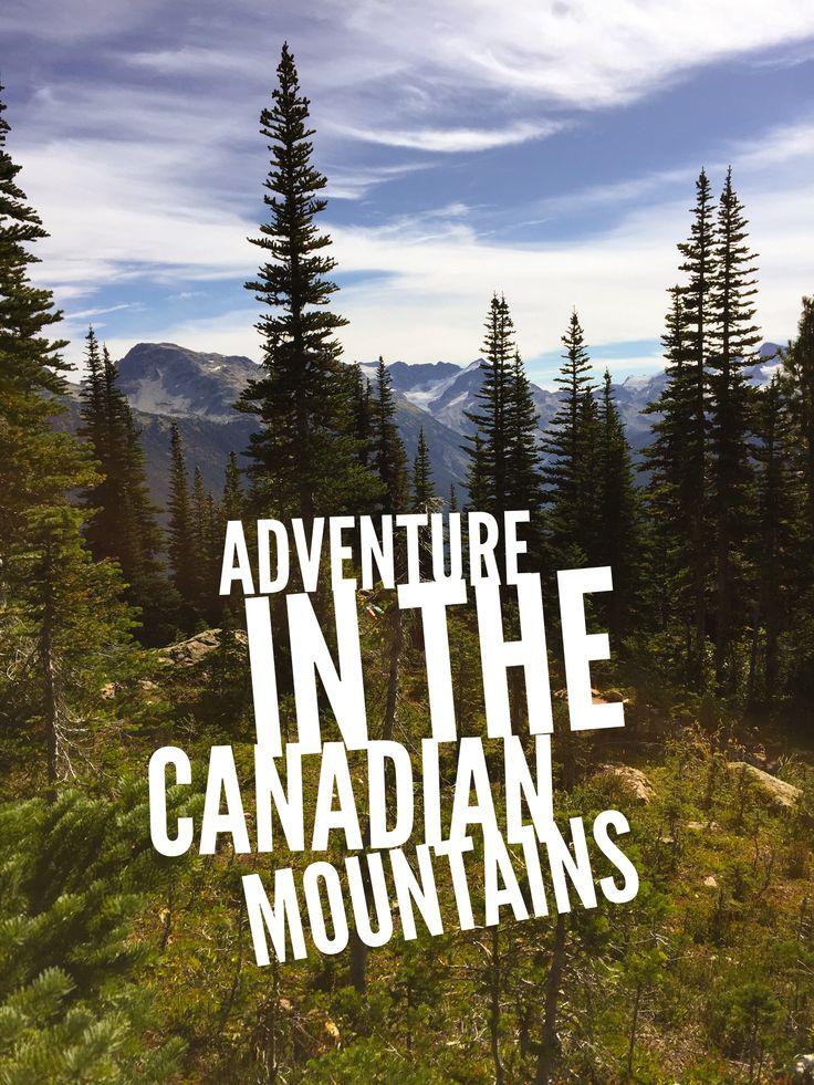 Zip Line through the Canadian Mountains - Non Stop Destination