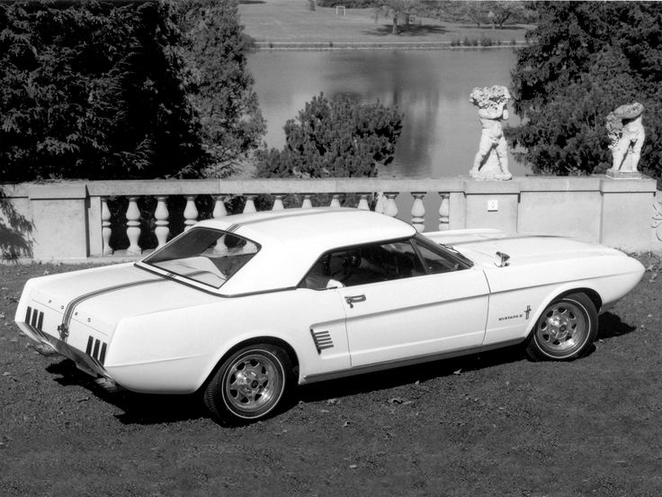 1963 Mustang Concept II (With images) | Mustang ii, Ford ...
