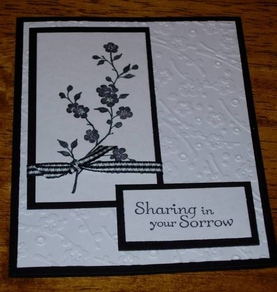 Card Making Ideas Sympathy Part - 39: Donated By Animallover By - Cards And Paper Crafts At Splitcoaststampers