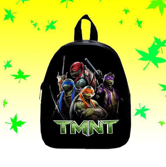 TMNT Ninja turtles   Backpack/SchoolBags for Kids. by FACIALBAG