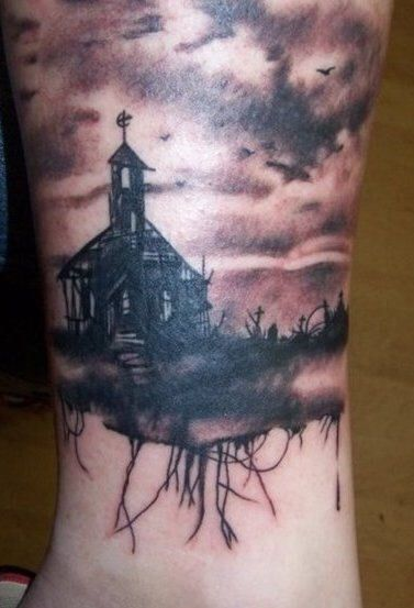 57 best images about meaning tattoo on pinterest crow for Gothic neck tattoos