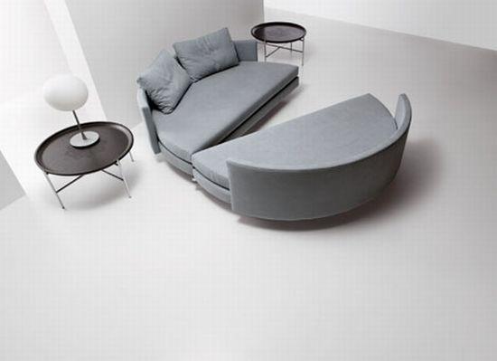 Round Sofa Bed Scoop By Saba Yard Pinterest