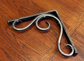 Soporte para estante de Metal forjado por ArtisansoftheAnvil