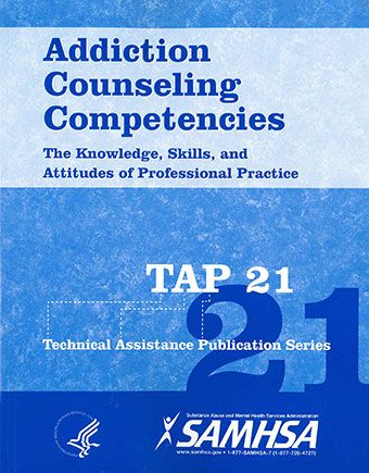 addiction counseling competencies paper This document is part of the technical assistance protocol (tap) series  tap  21: addiction counseling competencies: the knowledge, skills, and attitudes of .