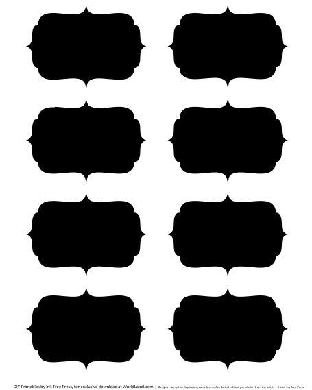 15 best Chalkboard Labels images on Pinterest | Chalkboard labels ...