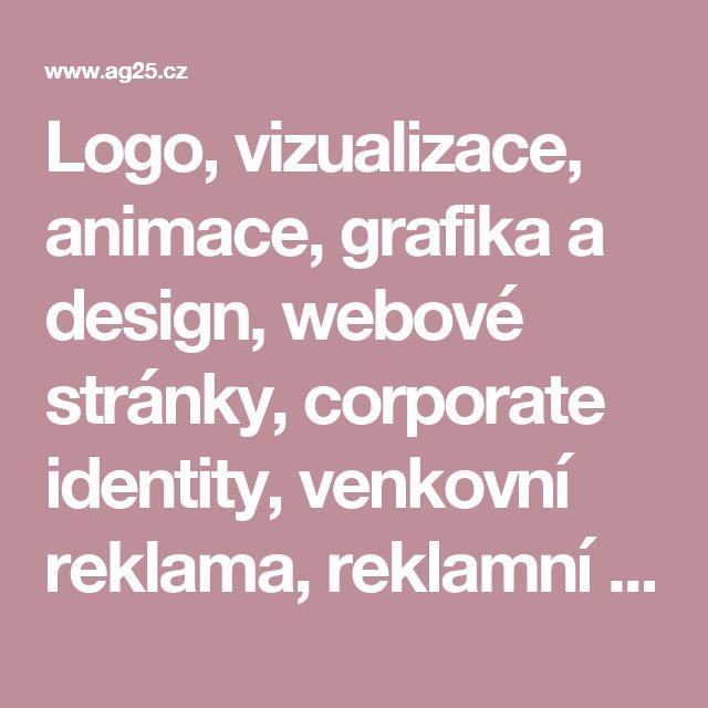 Logo, vizualizace, animace, grafika a design, webové stránky, corporate identity, venkovní reklama, reklamní předměty, loga - AG25 - grafické, softwarové a internetové studio