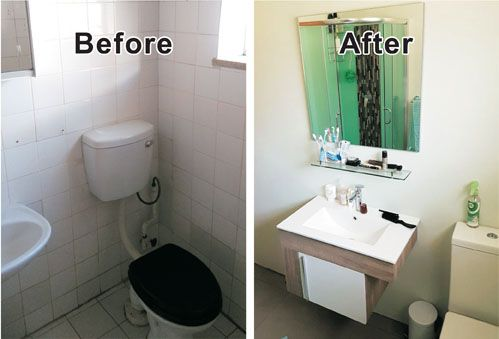 Bathroom renovation by Happy Handyman