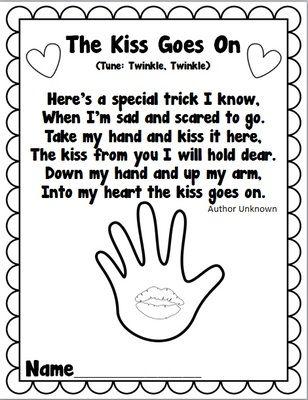 33 best Kindergarten/ The Kissing Hand images on Pinterest