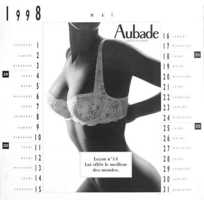 Mois de Mai du Calendrier 1998 - Aubade