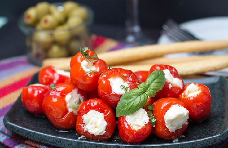 cheese Cream stuffed australia peppers dress online shop peppadew and ricotta