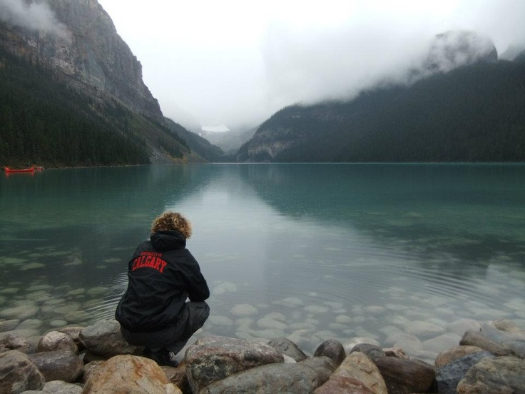 Lake Louise, 2 hour drive from the University of Calgary.