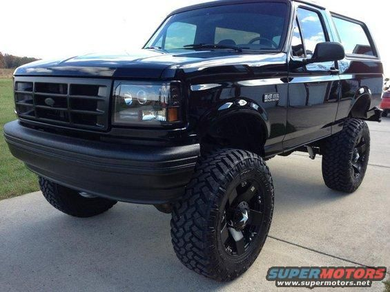 1992 Ford Bronco pictures, photos, videos, and sounds   SuperMotors.net