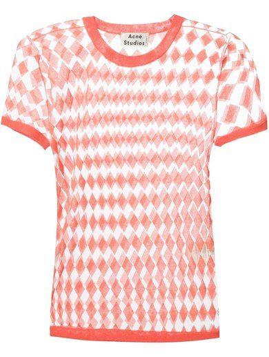 Acne Studios Square Pattern T-Shirt