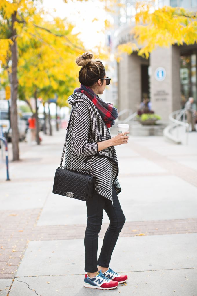 Sneakers and Plaid | Hello Fashion