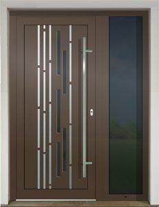 GAVA 488a RAL 8014 vstupné dvere