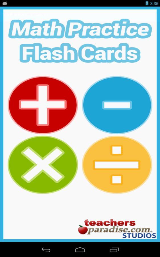 Matemáticas Prácticas . Juego de tarjetas para practicar la suma, resta, multiplicación y división. Etapa Primaria.