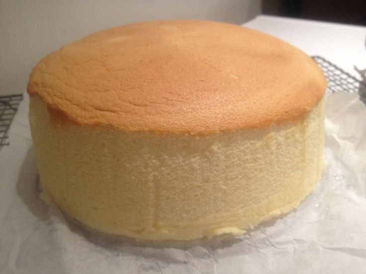 Japanese Cotton Cheese Cake- Minimize Shrinkage.  I've made a japanese cheese cake before (different recipe) and it is delicious.  Slightly sweet taste.  I'm excited to try hers.