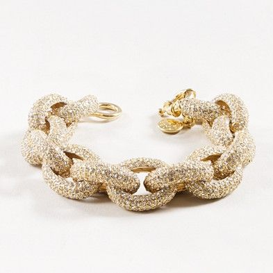 Classic pavé link bracelet, i need this