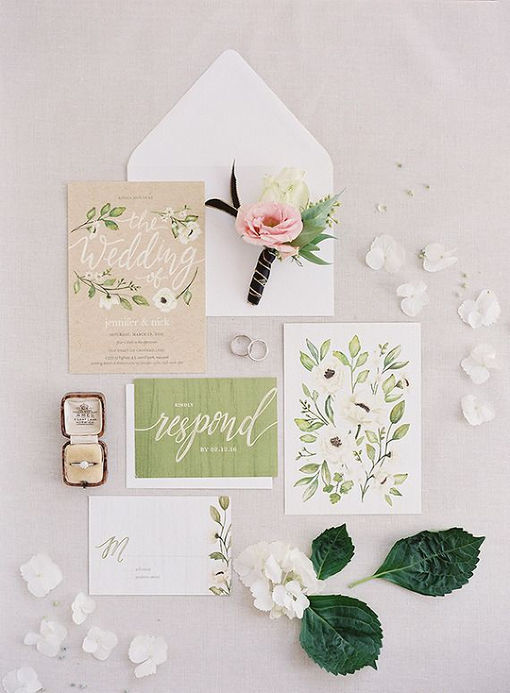Wedding Invitation Suite, Minted | Heather Payne Photography