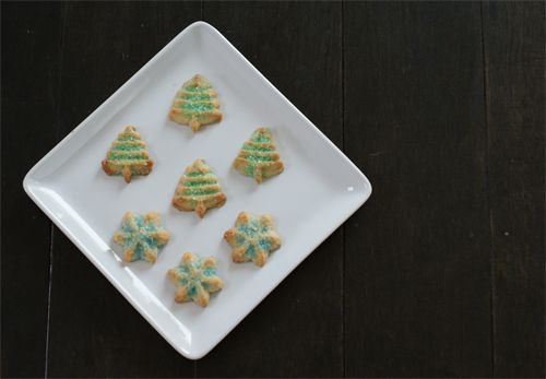 Classic spritz Christmas cookies are a wonderful edition to your cookie tins!