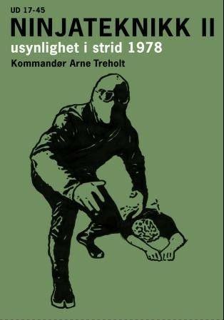 Dette er selveste Kommandør Arne Treholts håndbok i ninjateknikker fra 1978, da han tjenestegjorde som instruktør på Marinjegerkommandoens Ninjaskole i Ramsund. Her kan man lære alle de grunnleggende teknikkene som inngår i kunsten å gjøre seg usynlig for motstanderen: usynlighetsteknikk, lusketeknikk, forsvinningsteknikk, samt ulike åndelige teknikker. Boka er gjennomillustrert, og Treholt demonstrerer selv teknikkene på fotografier.