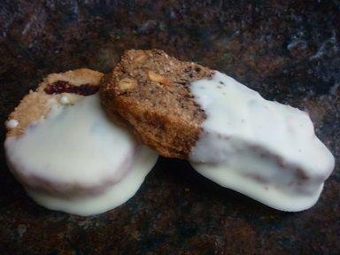 バタークッキー ホワイトチョココーティングタイプ 1セット5枚入り - 手作り雑貨とお菓子のらくだや