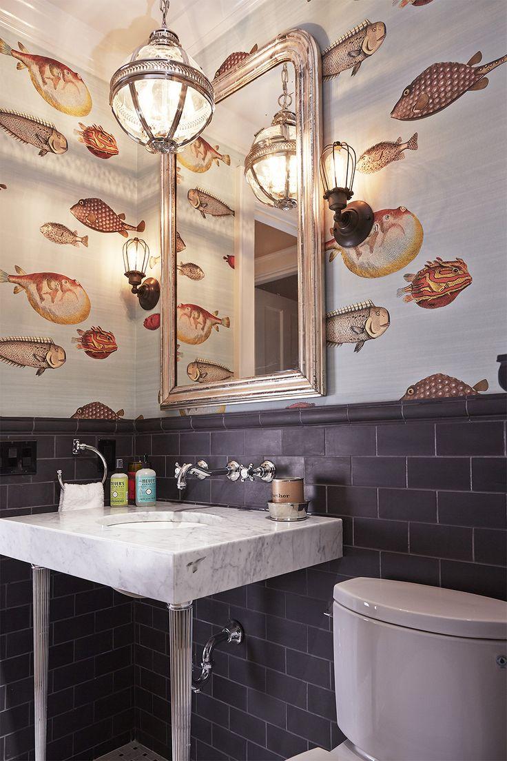 Design Sponge Bathrooms 17 Best Ideas About Fish Bathroom On Pinterest Art Wall Kids