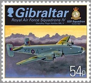 Handley Page Halifax Mk V, 520 Squadron