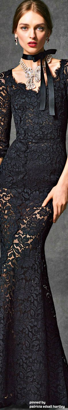 Dolce & Gabbana FW 2017 - Evening